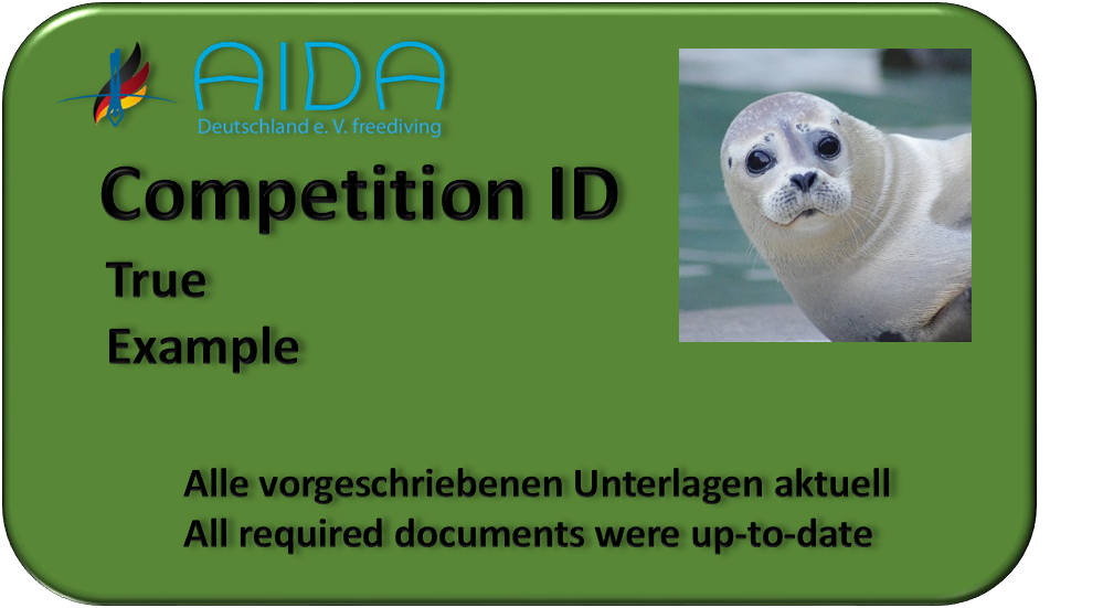 Competition-ID in Ordnung