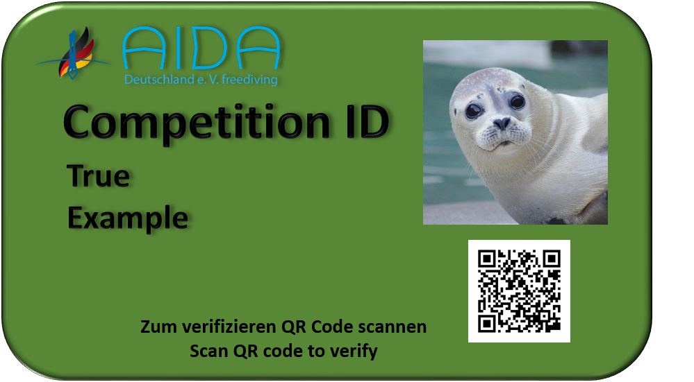 Competition-ID Athlet